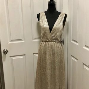 Lulu's All That Shimmers Gown NWT